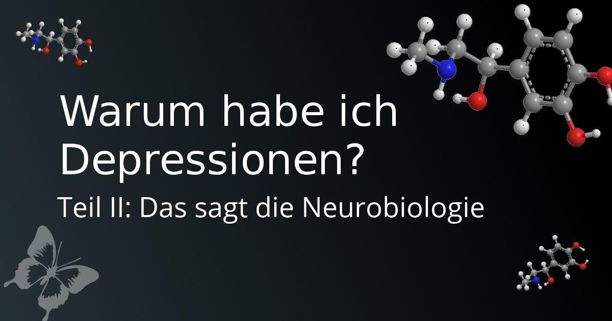 Neurotransmitter als Ursache für Depressionen