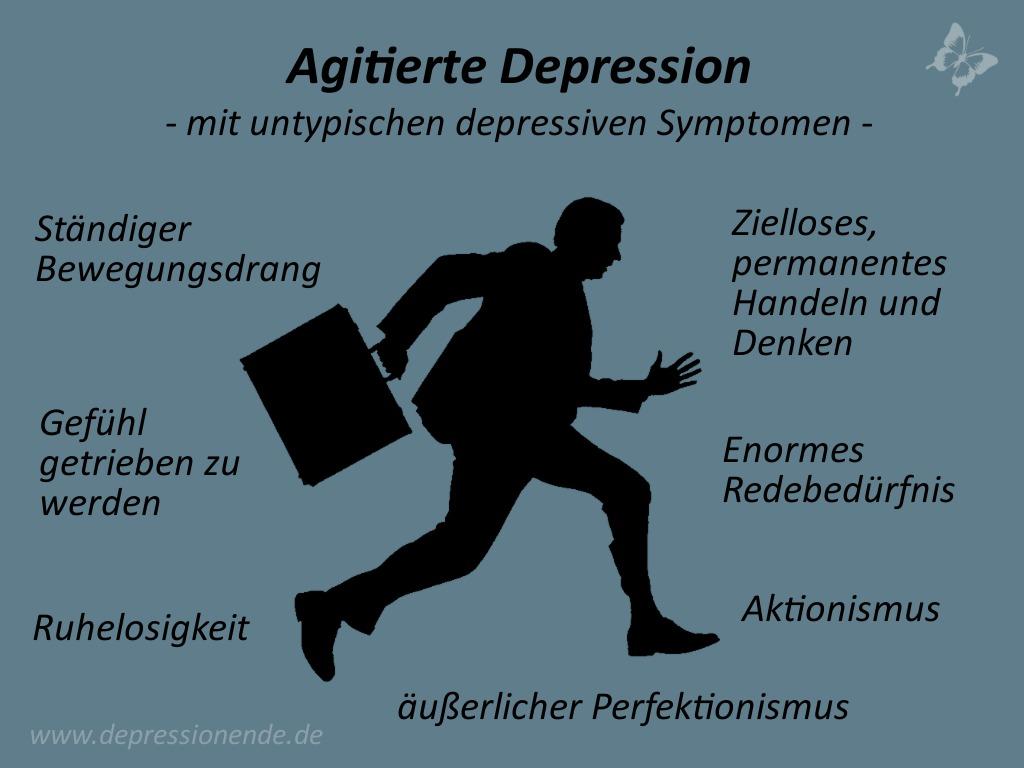 Agierte Depression - die eher untypischen Symptome für eine Depression