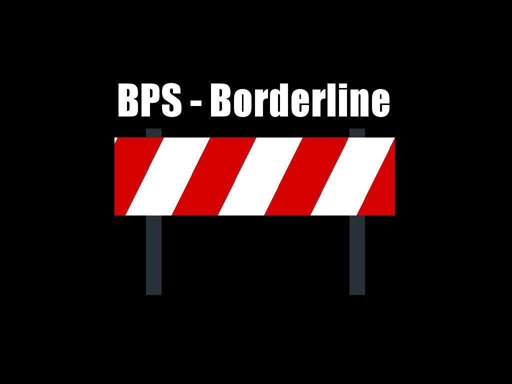 Illustratiion einer Abgrenzung sinnbildlich für Borderline