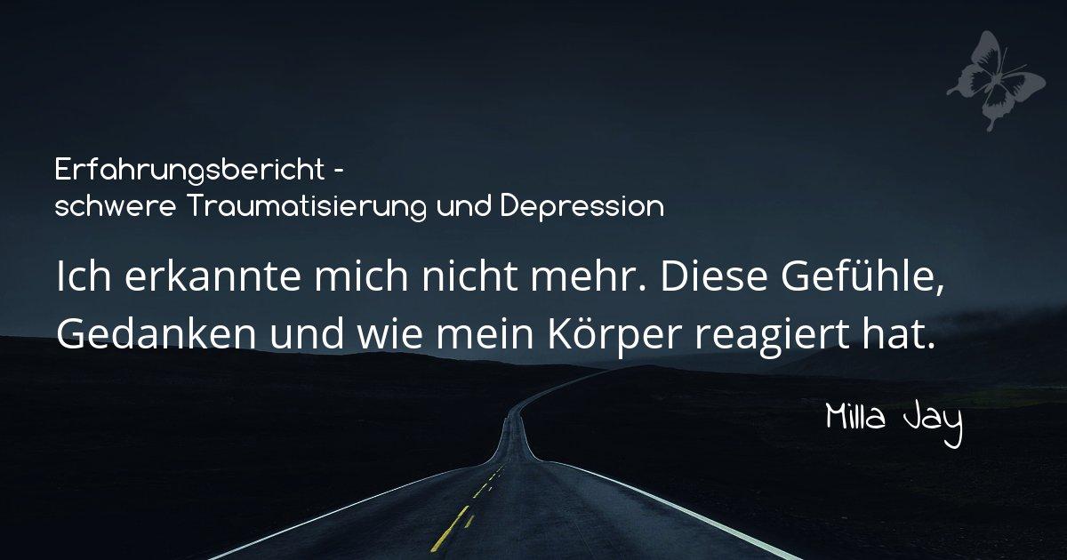 Erfahrungsbericht-Depression-Milla: Dunkle Strasse und Titel